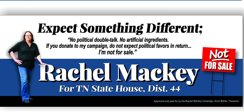 Elect Rachel Mackey